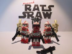 Lego Star Wars minifigures - Clone Custom Troopers - Comdr Thorn s last Stand