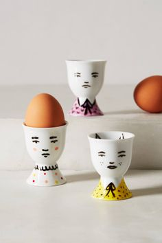 Super cute Portraiture Egg Cup from anthropologie