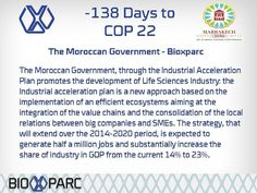 Follow our countdown to COP22 Marrakech #cop22 #morocco #Marrakech #Bioxparc #biotechnology #biotech #medtech #countdown #science