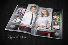 Выпускной альбом для школ и гимназий № 85 два варианта обложки и 8 разворотов , 20х 30 см