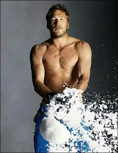 First up, Bode Miller! #HunkDay An #Olympian that's got us dreamin' :-)