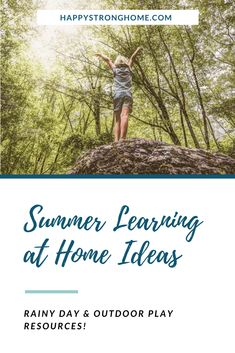 Summer Learning at Home Ideas (PLUS Giveaway!) | Happy Strong Home