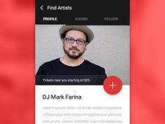 Music App, Material Design