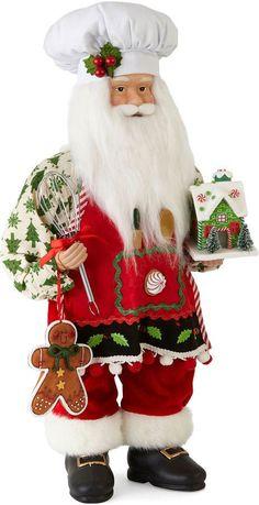North Pole Trading Co. Christmas Cheer 18 Baker Santa