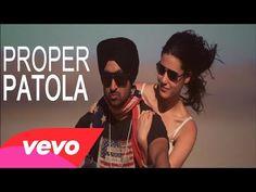 ▶ Diljit Dosanjh Proper Patola feat. Badshah Full Video - YouTube