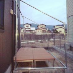庭/DIY/デッキ/単管パイプのインテリア実例 - 2016-12-18 08:35:00 | RoomClip (ルームクリップ)