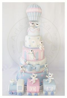 Just gorgeous! Baby Shower cake