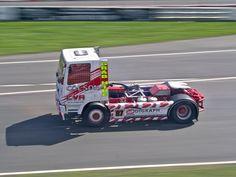 No 87 Ryan Colson, Foden Alpha, Class B at the (BTRC) British Truck Racing Championship at Brands Hatch 2016