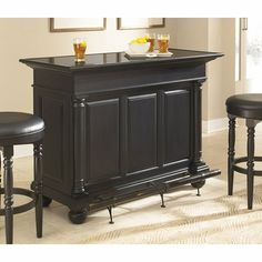 Home Styles St Croix Bar Black 5901 99 Homestyles 1 299