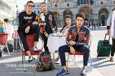 Dolce & Gabbana leva seus meninos para Veneza em campanha de Primavera/Verão 2018 – O Cara Fashion