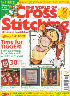 Gallery.ru / Фото #1 - The world of cross stitching 051 рождество 2001 - WhiteAngel