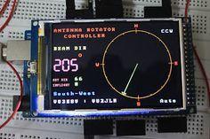 100nF: Arduino Mega2560 based Antenna Rotator Controller