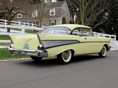 1957 Chevrolet....Re-pin brought to you by agents at #HouseofInsurance #Eugene, Oregon for #carinsurance.