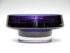 Glass Design, Design Art, Vintage Bowls, Violet, Finland, Modern Contemporary, Scandinavian, Glass Art, Interior Decorating