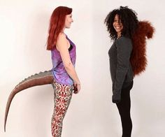 Wearable Tails - http://tiwib.co/wearable-tails/ #Costumes
