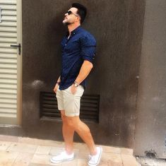 The Best Men's Summer Outfits For Every Moment - Adzkiya Website summer outfits men Summer Outfits Men, Short Outfits, Casual Outfits, Summer Men, Men's Summer Clothes, Summer Looks For Men, Smart Casual Wear, Men Casual, Latest Summer Fashion