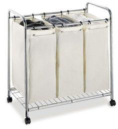 Three-Bag Laundry Sorter Image