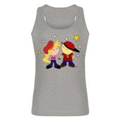 Camiseta de tirantes Raperos Enamorados diseñada por Piniella por sólo 18,90€ incluido IVA . Gastos de envío aparte.  http://www.shirtcity.es/shop/piniella/
