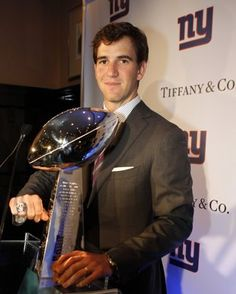 Q&A with Eli Manning: QB talks best Super Bowl catch and roughhousing with Peyton Eli Manning Super Bowl, Peyton And Eli Manning, New York Giants Football, Nfl Football, Mary Lou Retton, People News, National Football League, Football Season, Big Thing