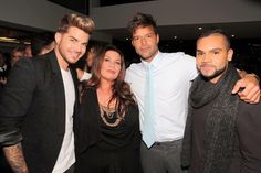Gail Page: Simi & I together with these 2 stars What a night hey! Ricky Martin Adam Lambert https://www.facebook.com/gailpagemusic/photos/a.10151764101342374.1073741826.237359587373/10152989808427374/?type=1 …