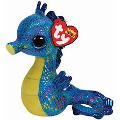 Ty Beanie Boos - Neptune the Seahorse Soft Toy
