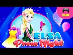 Elsa's Prom Night - Video Game - YouTube