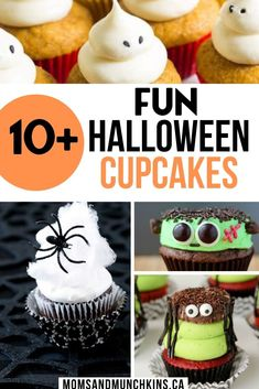 Halloween is almost here! Make you celebration memorable with these 10  Halloween Cupcake Ideas! Get creative with these wild and wacky desserts. I love cupcakes so much! My biggest problem is not eating them all! Try these out and let us know which recipe was your favorite! I'm making these this week! cupcake recipes. Halloween. 10  Halloween Cupcake Ideas Cupcake Ideas, Cupcake Recipes, Dessert Recipes, Love Cupcakes, Yummy Cupcakes, Easy No Bake Desserts, Party Desserts, Pie Dessert, Desert Recipes