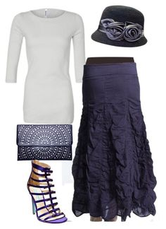 """Eulah"" by apostolicclothing ❤ liked on Polyvore featuring Liucia Japan and Betsey Johnson"