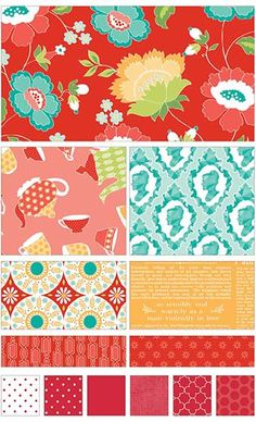 Ardently Austen fabric line by Amanda Herring Designs for Riley Blake Designs—Subscribe to our newsletter at http://www.rileyblakedesigns.com/newsletter/