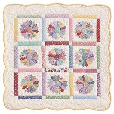 Mini Dresden Plate: Eleanor Burns Signature Quilt Pattern
