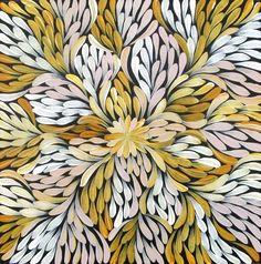 Mary Pitjara _ Acacia Flower (Alhepahl)