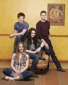 Still of Vanessa Marano, Sean Berdy, Lucas Grabeel and Katie Leclerc in Switched at Birth