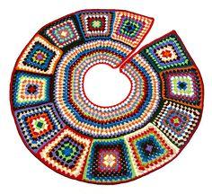 Árbol de Navidad Falda Roundup - Grupo de Apoyo de vacaciones Crafting