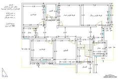 تخطيط منزل دور وشقتين - بحث Google