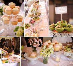 High Tea Ideas For Bridal Shower