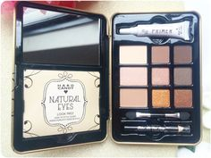 HARD CANDY  The Hard Candy Look Pro Neutral Eyes Eyeshadow Palette Neutral Eyes, Hard Candy, Eyeshadow Palette, Blush, Box, Snare Drum, Natural Eyes, Rouge