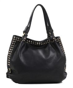 Loving this Black Tamia Shoulder Bag on #zulily! #zulilyfinds
