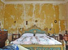 Keltainen talo rannalla: Sisustuksia Englannista