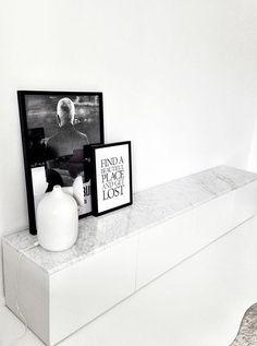 El mármol blanco, vuelve como tendencia en decoración