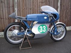1969 Single cyclinder 250 cc Greeves Silverstone production racer. At this time an over the counter bike could give the works racers a run for their money.