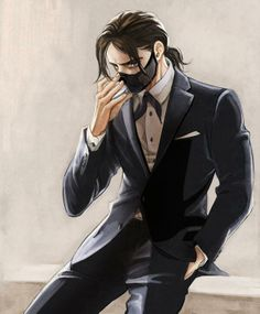 What even, why is he wearing a mask with a suit? Bucky are you okay?