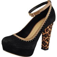 Bruno Menegatti 10155722 Women's Black Nubuck Leather Platform Pump 9 US (*Partner Link) Suede Pumps, Women's Pumps, Leopard Heels, Platform Pumps, Pump Shoes, Peep Toe, Sandals, Boots, Leather