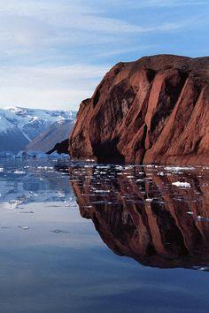 Red Island • Scoresby SUND, North-East Greenland