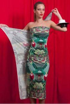 Canga pode virar vestido [6] Tie Up Dress, Scarf Dress, Maxi Wrap Dress, Strapless Dress, Convertible Clothing, Diy Fashion, Womens Fashion, Scarf Styles, Refashion