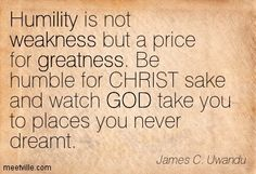 quotes about humility - Google Search