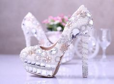 Amazing Wedding Bridal Shoes  #weddbook #wedding #shoes #bride #fashion