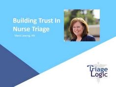 Watch this short video to learn how to build Trust in Telephone Nurse Triage! Nurse Patient Relationship, Triage Nursing, Nurse Stuff, Telephone, Need To Know, Trust, How To Plan, Education, Watch