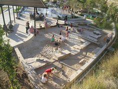 "I want this ""Sand Beach"" in my back yard !!!  =  Pirrama Park | Sydney Australia | ASPECT Studios"