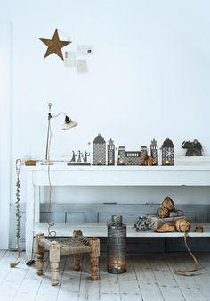 Decoración de Navidad con acento nórdico #christmas van: http://www.decopeques.com/decoracion-de-navidad-con-acento-nordico/