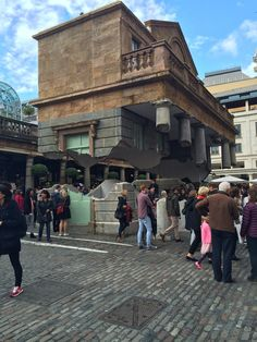 Contemporary Curating — Today I visited the creation in Covent Garden by...